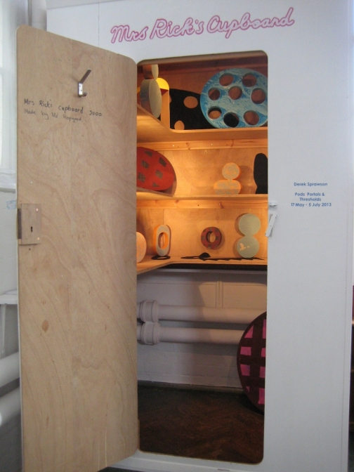 Mrs Rick's Cupboard - Pods, Portals & Thresholds